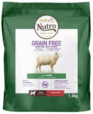 Nutro Grainfree Adult Small lammas 1,4 kg